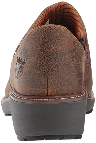 Brown Al Shoe Slipon Riveter Dark Timberland Pro SDP Womens xwPZIg8qO