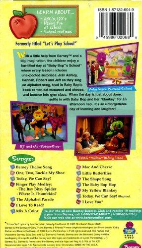 Amazoncom Barneys Abcs 123s Barney Movies Tv