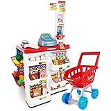 Kinderplay KP6441 - Supermercado de juguete, venta de alimentos/verduras