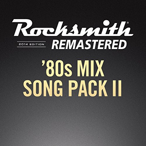 Rocksmith 2014: 80s Mix Song Pack II - PS3 [Digital Code]