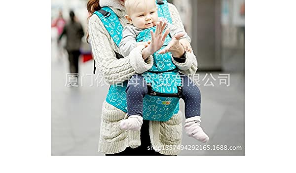 Amazon.com : 2015 summer new cotton baby stool waist strap Maximum loading capacity 20kg sling Multiple back method manduca mochila portabebe : Baby