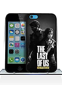 Iphone 5c Funda Case, Game - The Last Of Us Impact Resistant Durable Aesthetic Personalized Style Anti Dust Extra Slim Compatible with Iphone 5c