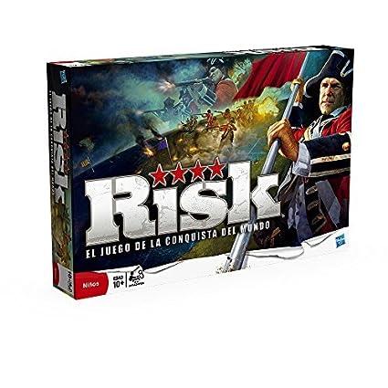 Amazon Es Hasbro Gaming Risk Juego De Estrategia