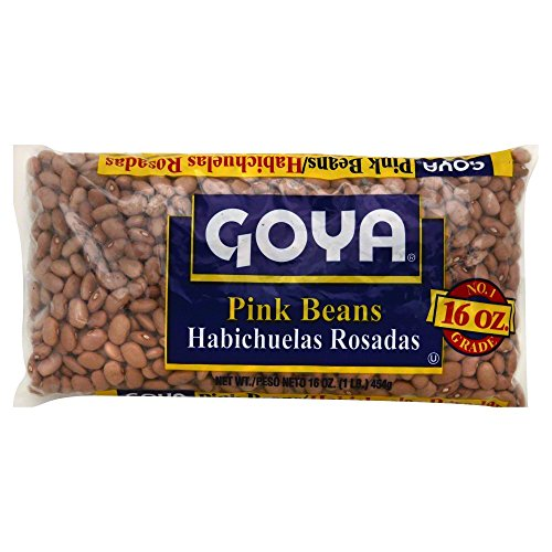 chuelas Rosadas 16oz (Pack of 3) (Goya Bean)