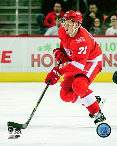 0d591aae72d Image Unavailable. Image not available for. Color  Dylan Larkin Detroit Red  Wings 2017-18 NHL Action ...