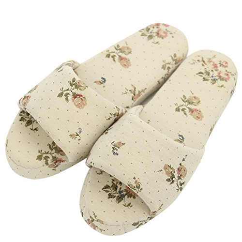 Slippers Warm Slipper Fleece Floral Coral Flop Indoor Home Women's Flip Shoes House Fun IFOxfO