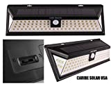 Caribe Solar USA Solar Power Lights, 86 LED Outdoor Motion Sensor Light for Outside Backyard Patio Deck or Porch Lighting at a
