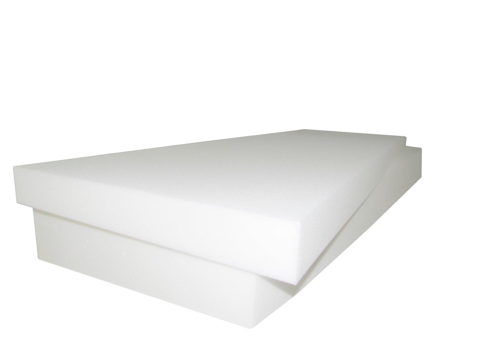 Foam Cushion 7''T x 30''W x 80''L (1536) ''MEDIUM FIRM'' Seat Replacement Foam Cushion, Upholstery Foam Slab, Foam Padding