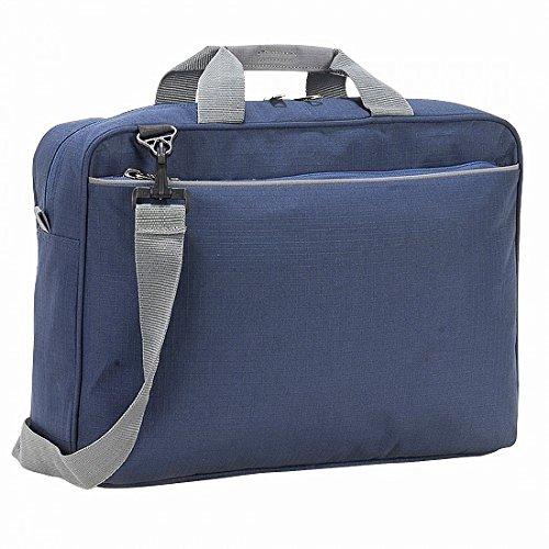 Bolso bandolera Kansas Shugon/ordenador portátil, 13 litros azul marino