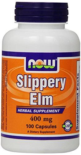 Теперь Продукты скользкий Элм 400 мг, капсулы, 100-Граф