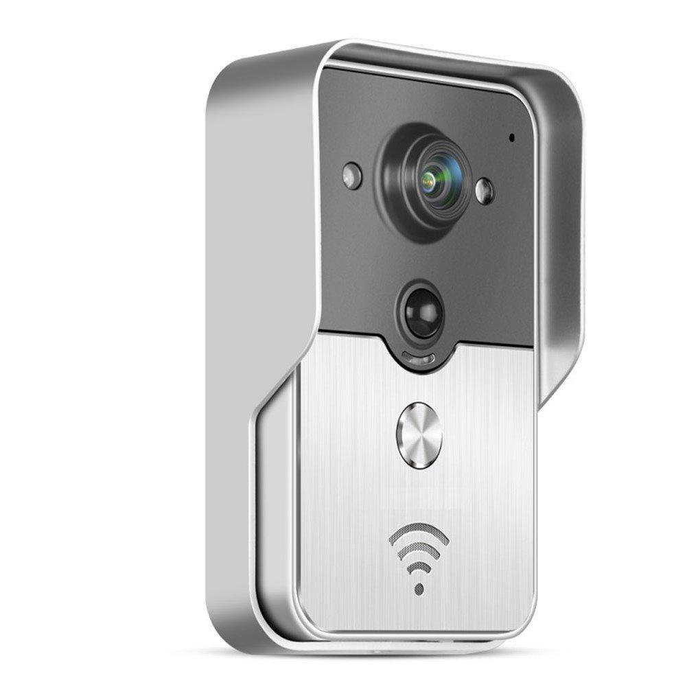 harris doorbell with push door light wireless and button bell strobe communications flashing hc