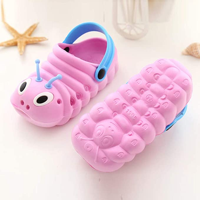 HOOUDO Toddler Clog Sandals for Boys /& Girls Cute Cartoon Soft Sole Anti-Slip Sneakers Slippers Shoes for Summer Beach 0-3 Months to 3-5 Years