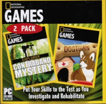 - National Geographic Games: Explorer Contraband Mystery & Dogtown