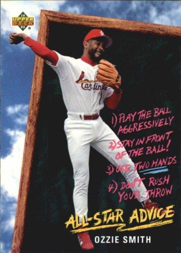 (1993 Fun Pack Baseball Card #215 Ozzie Smith )