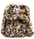 Tini Bag - Tote Bag with cute outerwear miniature (Leopard)