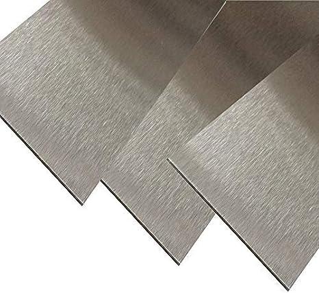 Metallfolie Dicke 0,200 mm Edelstahl 1.4301 Länge 2500 mm Breite 150 mm