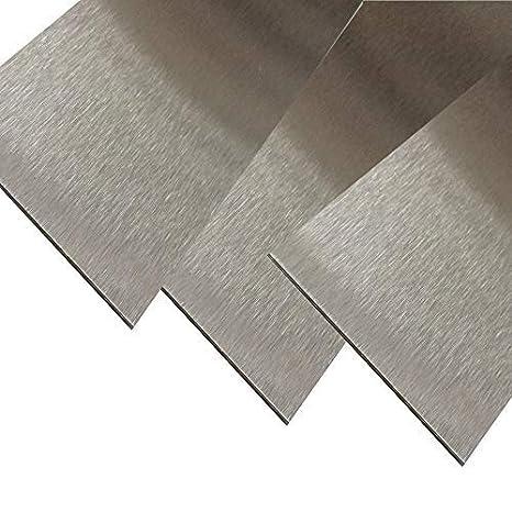 30 mm Blechstreifen magnetisch K240 geschliffen VA 0,8mm stark Zierstreifen Magnetischer Edelstahl Blechstreifen 2000 Blechzuschnitt Edelstahl Magnetstreifen