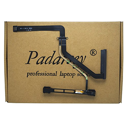 Padarsey Replacement Hard Drive Cable w/IR/Sleep/HD Cable with Bracket Compatible for MacBook Pro 15