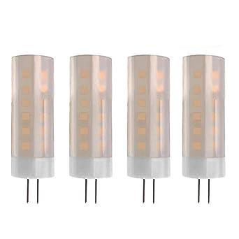 XZANTE Led Luz De Llama G4 Base 2W? Bombillas De Luces De Efecto De Fuego