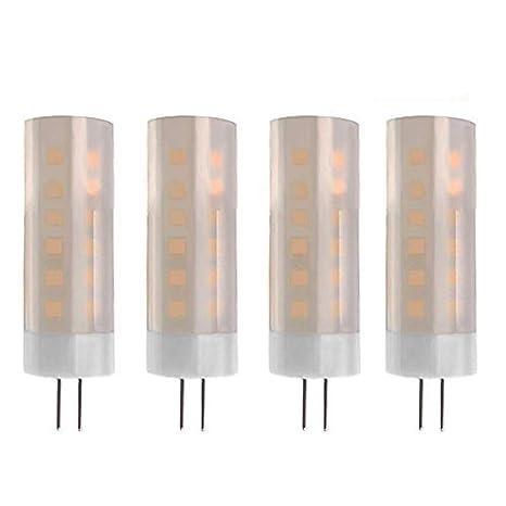 JVSISM Led Luz De Llama G4 Base 2W? Bombillas De Luces De Efecto De Fuego