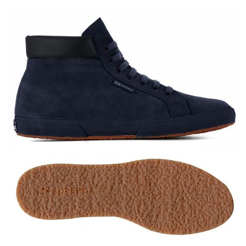 Superga 2204-Suem, Zapatillas de Deporte Interior para Hombre azul - Full Blue