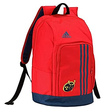 f35c88b9e62d adidas Munster Rugby Schoolbag Backpack - Red Blue  Amazon.co.uk  Sports    Outdoors