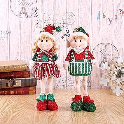 bambole natalizie