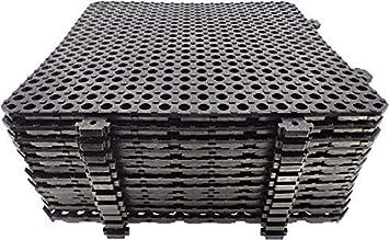 Losa tarima desmontable Náyade Block 30x30 marrón- Pack 12 Uds. Ideal para vestuarios, piscinas, jardines, spas, peluquerías caninas.
