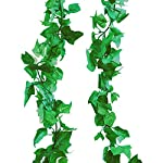 A-Decor-84-ft-12-Pack-Artificial-Ivy-Vine-Hanging-Garland-Fake-Foliage-Flowers-Leaf-Plants-Home-Garden-Greenery-Life-Like-English-Poison-Ivy-Wedding-Party-Strands-Indoor-Outdoor-Wall-Decor-Green