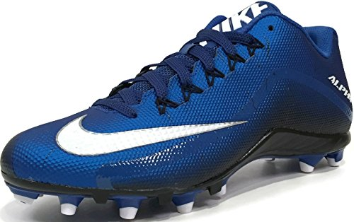 Nike Football Shoes Alpha Pro 2 TD Sport Royal/White-Black Size 10
