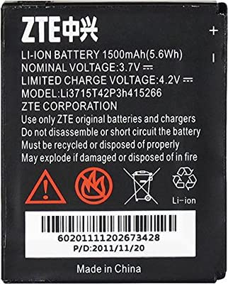 ZTE Li3715T42P3h415266/LI3715T42P3h415266 ZTE LI3715T42P3h415266 Battery Fury AT&T Avail Original OEM - Non-Retail Packaging - Black
