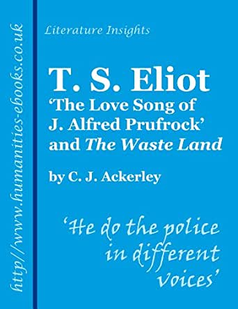 understanding alfred prufrock in the love song of j alfred prufrock by t s eliot Understanding the love song of j alfred prufrock  the works of ts eliot 05: the love song of j alfred prufrock - duration:  the love song of j alfred prufrock,.