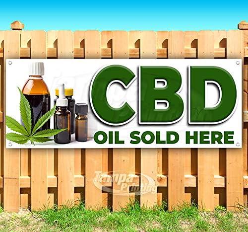 CBD OIL AUTHORIZED SELLER  VINYL  BANNERS NEW! CHOOSE A SIZE