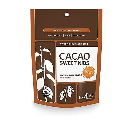Sweet cacao nibs