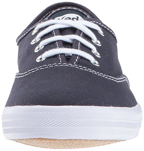 Bleu Champion Mode navy white black Text Baskets Keds Femme Core P8qw4S4