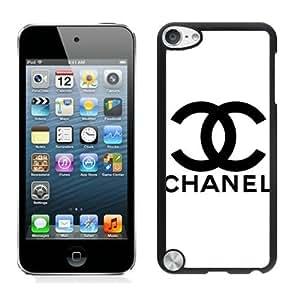 Chanel Black iPod Touch 5 Cellphone Case Personalized and Unique Design