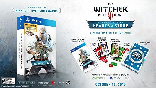 The Witcher 3 Hearts of Stone Limited Edition Expansion with Gwent Decks (Gamestop ()