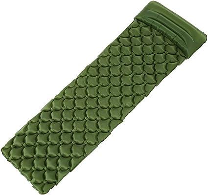 Pillow Cushion Camping Sleeping Pad Outdoor Air Mattress Inflatable Mat