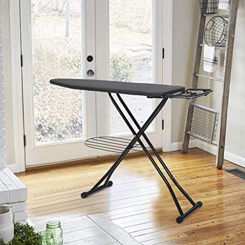 (Sodoop Ironing Board, Foldable Adjustable Home Ironing Board with Cover,Steam Iron Rest,48x15 inch)