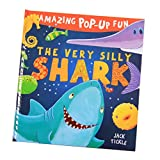 Blesiya Reading for Preschool -3D Pop Up Book - Help Kids Toddler Animals Cognition ( Shark)