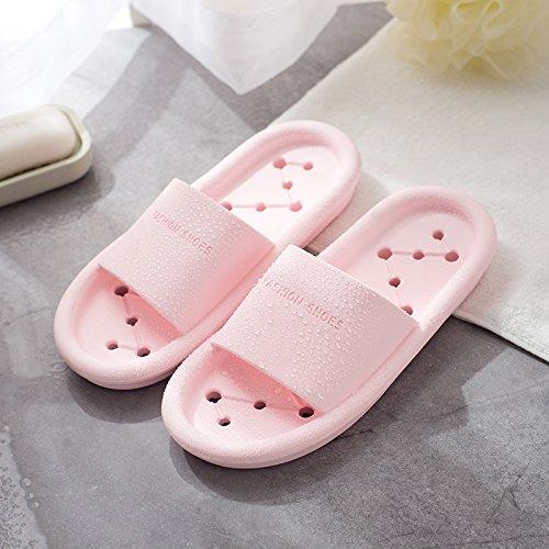 nbsp;Las Cool white nacional slip negro anti expuesto retrete de Verano interior femenino zapatillas baño ducha zapatillas Rosa Fankou 41 WC 40 fwd4aqf
