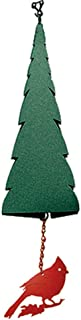 product image for North Country Wind Bells Pointed Fir of the North with Cardinal - 3 Tones