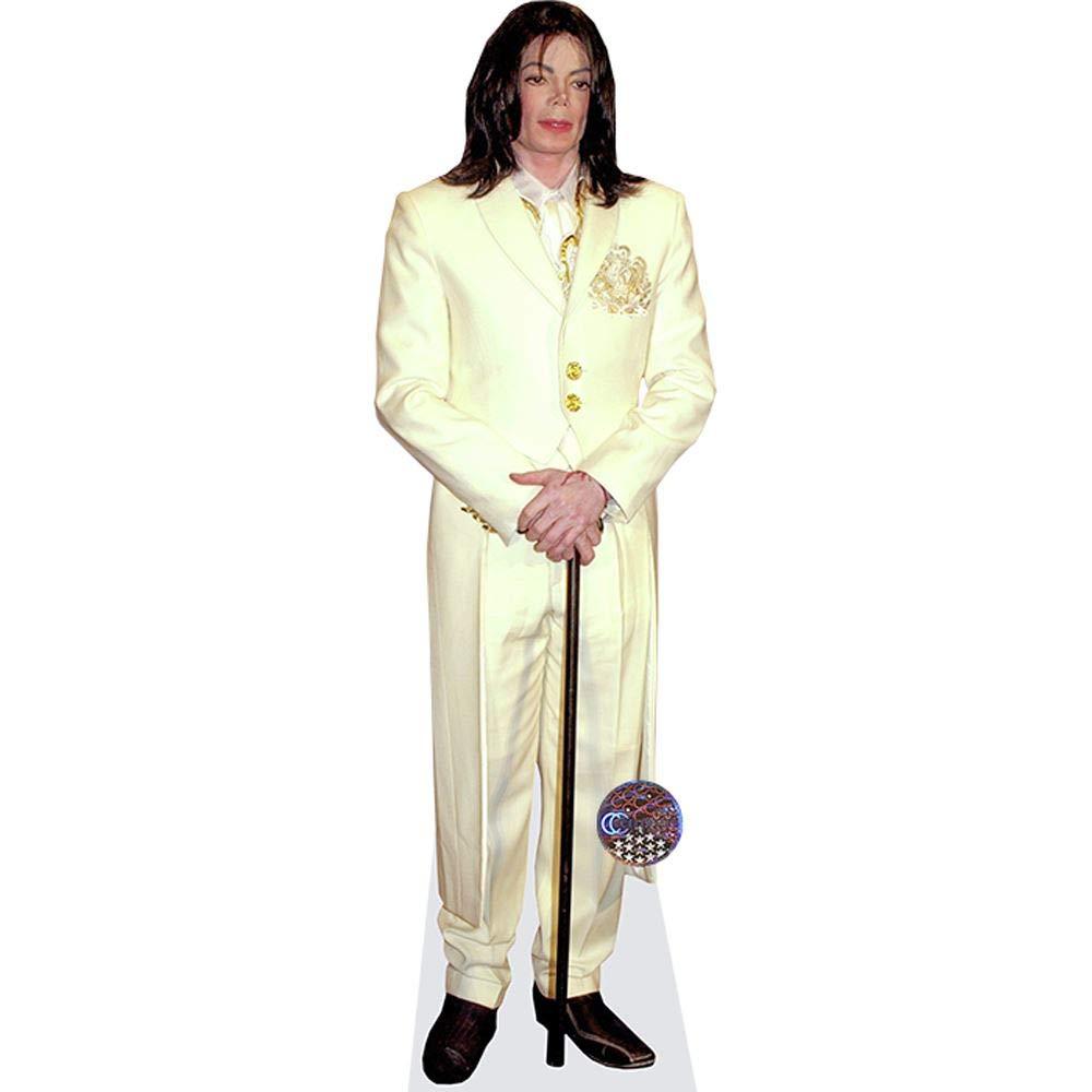 Celebrity Cutouts Michael Jackson (Cane) Pappaufsteller lebensgross