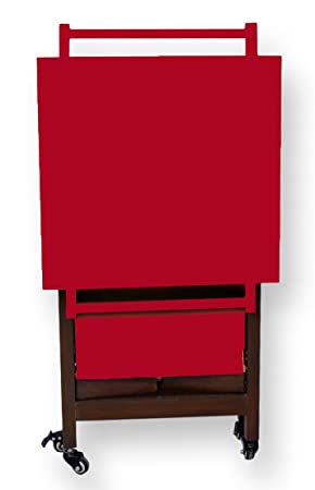 Mod-Bit Utileco Red Brown Serving Trolley (PU)