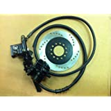 BRAKE ASSEMBLY SYSTEM (MASTER CYLINDER, HOSE & CALIPER) for Chinese made 50cc, 70cc, 90cc, 100cc, 110cc, 125cc KIDS' ATV