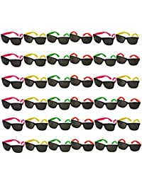 Bulk Lot of Neon Sunglasses- 36 Pair - Pool Party - Beach Party Favors