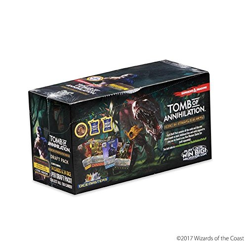 Dungeons & Dragons Dice Masters: Tomb of Annihilation Draft Pack Countertop Display by WizKids