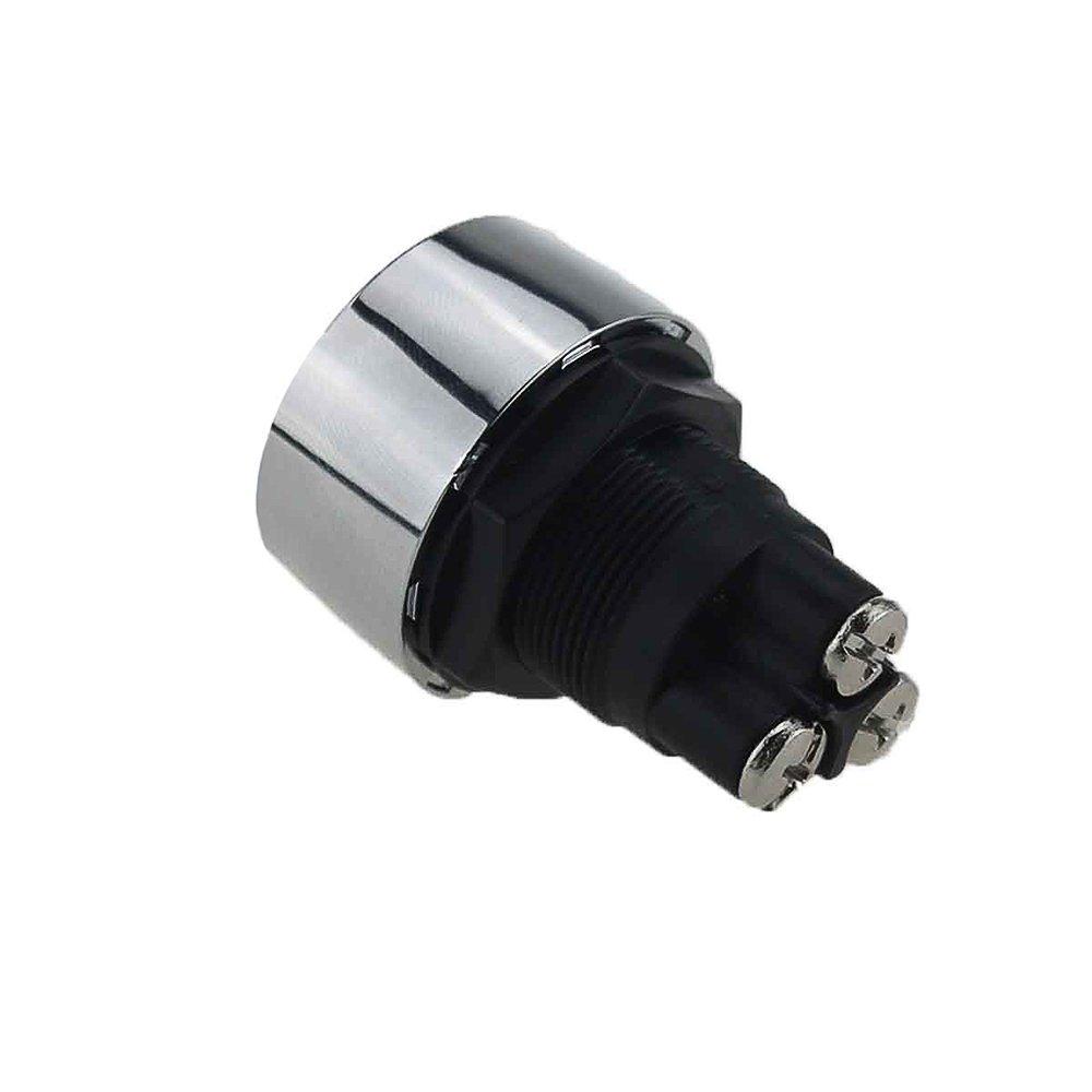 KKmoon Universal Motor Auto Ein Druckknopf Motor Startschalter Z/ündschalter 12V 50A