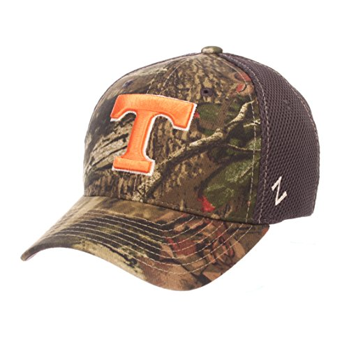 Zephyr NCAA Tennessee Volunteers Men's Terrain Cap, Medium/Large, Mossy Oak Camo