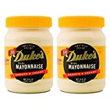 Duke s Real Mayonnaise Smooth & Creamy 2-16 fl oz Jars